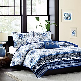 Intelligent Design Cassy Printed Coverlet Bedding Set