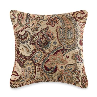 Make Your Own Pillow Livorno Square Throw Pillow Cover In