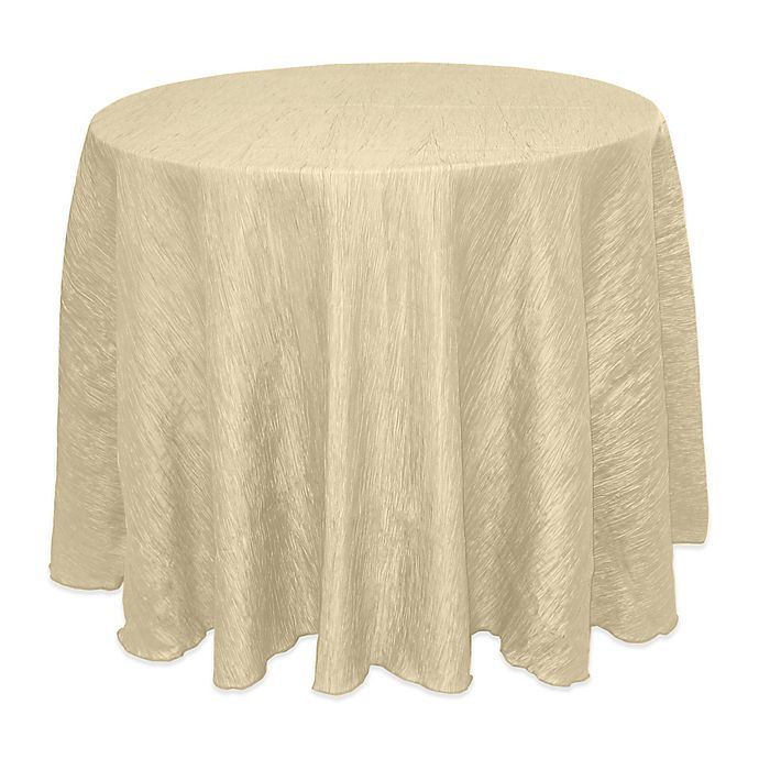 Alternate image 1 for Delano Round Tablecloth