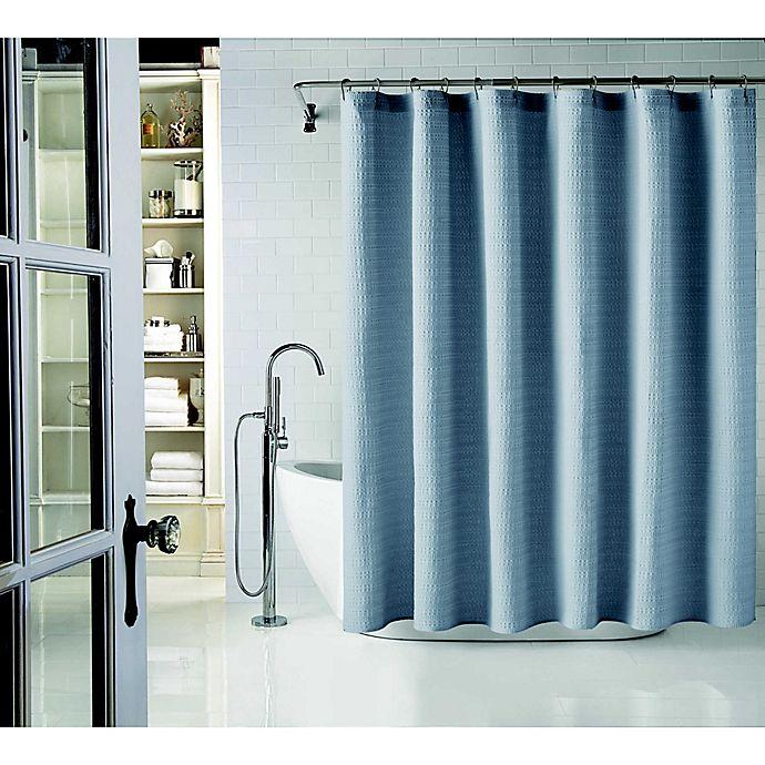 Alternate image 1 for Wamsutta® Cotton Shower Curtain