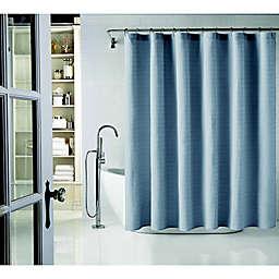 Wamsutta® 54-Inch x 78-Inch Cotton Shower Curtain in Blue