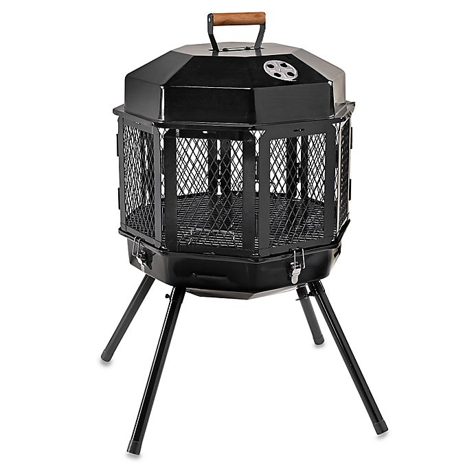 Masterbuilt Grizzly Cub Portable Fireplace Amp Grill Bed