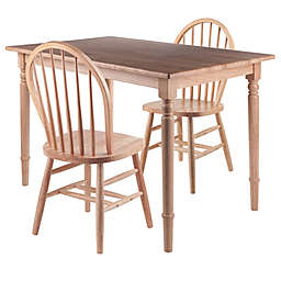 Winsome™ Ravenna Dining Set with Windsor Chairs in Natural