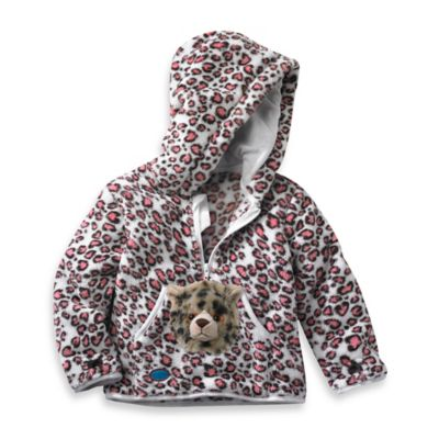 Ho Odie Pet™ Size 3   4 T Speedie The Cheetah Hoodie In Pink by Hoodie Pet