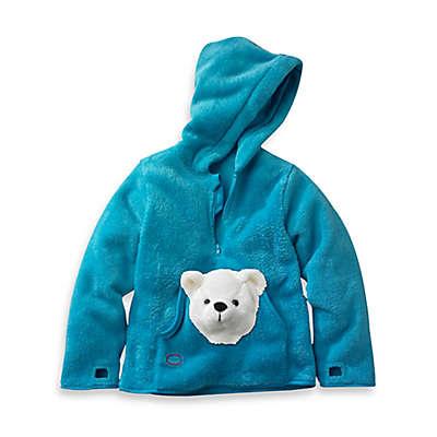 HoOdiePet™ Arkie the Polar Bear Hoodie in Turquoise