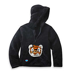 HoOdiePet™ Clawie the Tiger Hoodie in Black