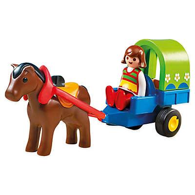 Playmobil® 1.2.3 Pony with Wagon