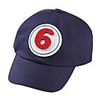 Mud Pie® Monthly Milestone Baseball Hat in Navy Blue