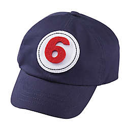 Mud Pie® Monthly Milestone Baseball Hat in Navy Blue
