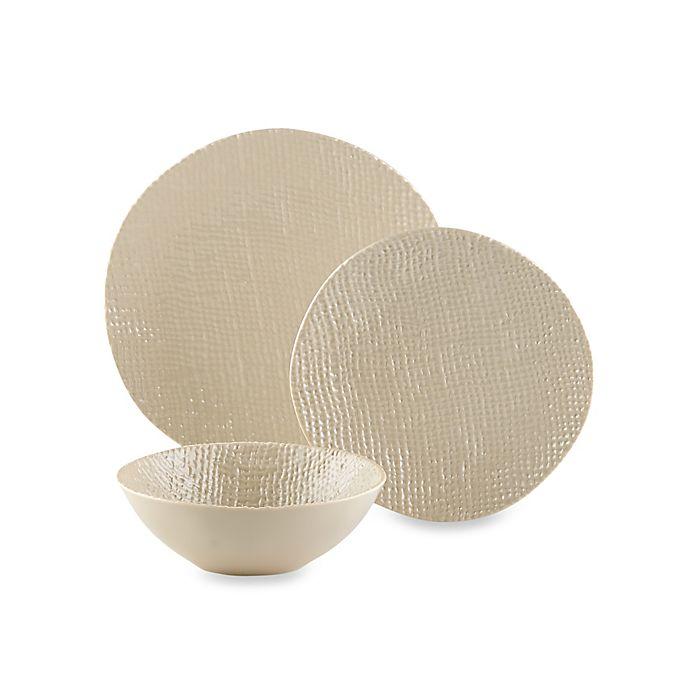 Alternate image 1 for Organic 3D Texture Melamine Dinnerware