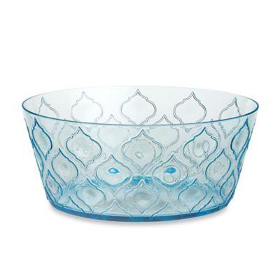 Radiance Aqua Acrylic Large Bowl Bed Bath Amp Beyond