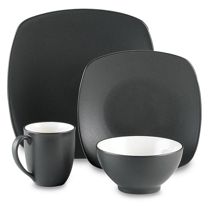 Alternate image 1 for Noritake® Colorwave Quad Graphite Dinnerware