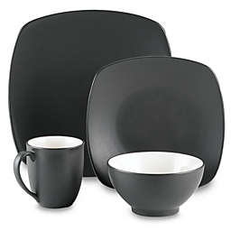 Noritake® Colorwave Quad Graphite Dinnerware