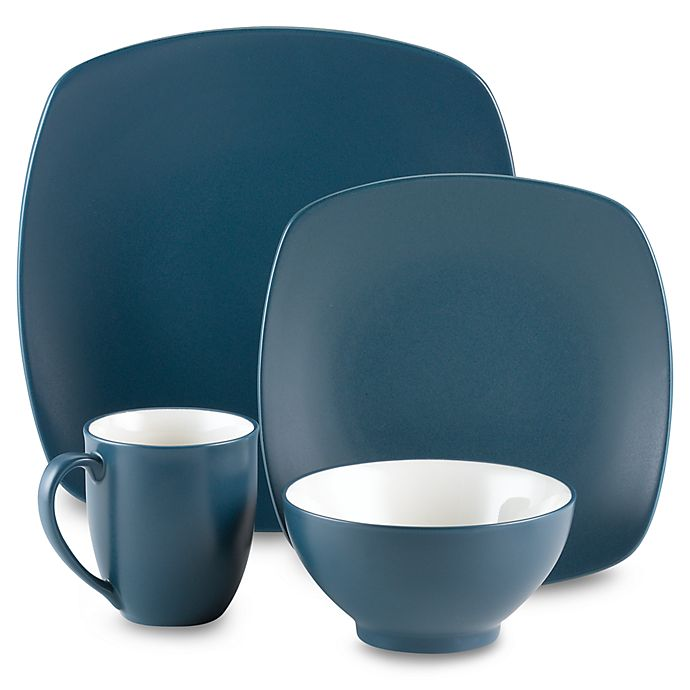 Alternate image 1 for Noritake® Colorwave Quad Dinnerware Collection in Blue