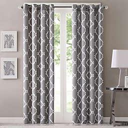 Fretwork Window Curtain Panel
