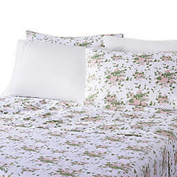 Waverly® Microfiber 6-Piece Queen Sheet Set in Floral