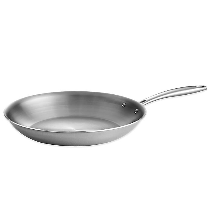 Alternate image 1 for Tramontina® Gourmet 12-Inch Tri-Ply Clad Fry Pan