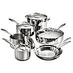 Tramontina® Gourmet 12-Piece Tri-Ply Clad Cookware Set