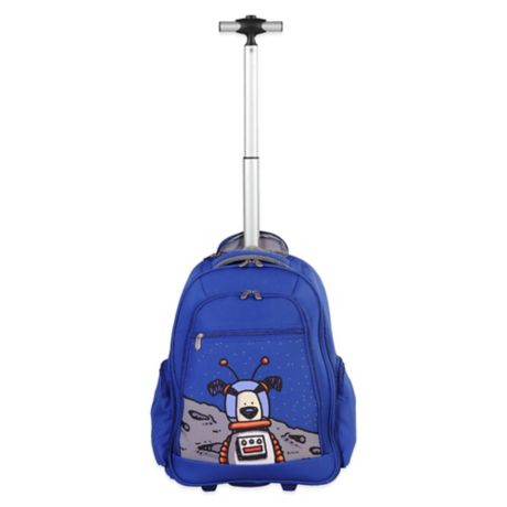 60dc6184f96f Ed Heck Moon Dog 20-Inch Wheeled Backpack in True Blue | Bed Bath ...