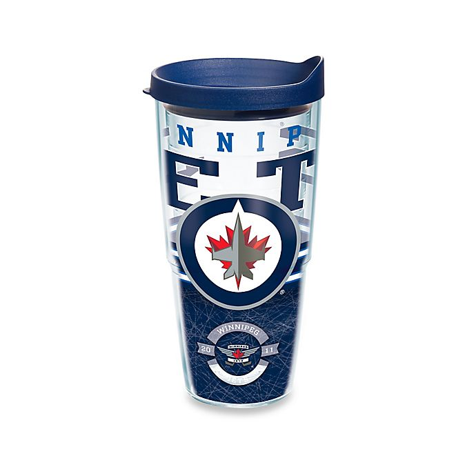 Alternate image 1 for Tervis® NHL Winnipeg Jets Core Wrap 24 oz. Tumbler with Lid