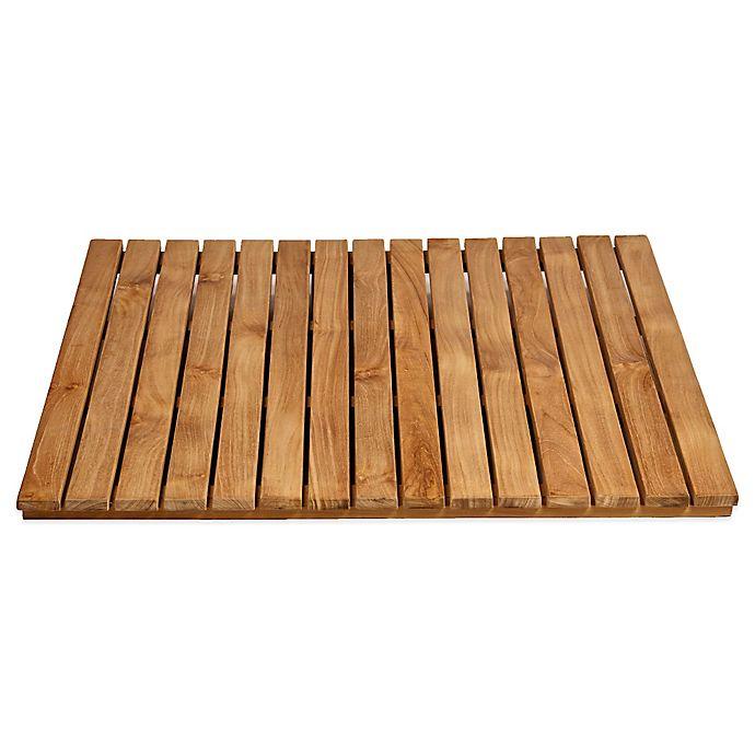 Alternate image 1 for ARB Teak & Specialties 30-Inch x 30-Inch Teak Wood Shower Mat