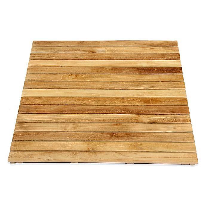 Alternate image 1 for ARB Teak & Specialties 36-Inch x 30-Inch Teak Wood Shower Mat