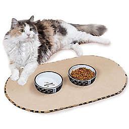 The Original™ Pet Bowl Mats in Taupe