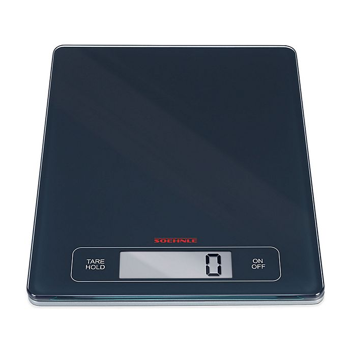 Alternate image 1 for Soehnle PAGE PROFI Precision Digital Sensor Touch Food Scale in Grey