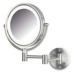 Jerdon 8X/1X LED Wall Mount Mirror