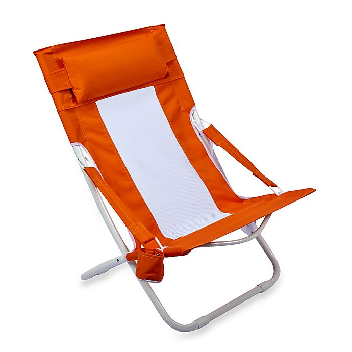Amazing Folding Hammock Beach Chair In Orange Bed Bath And Beyond Forskolin Free Trial Chair Design Images Forskolin Free Trialorg