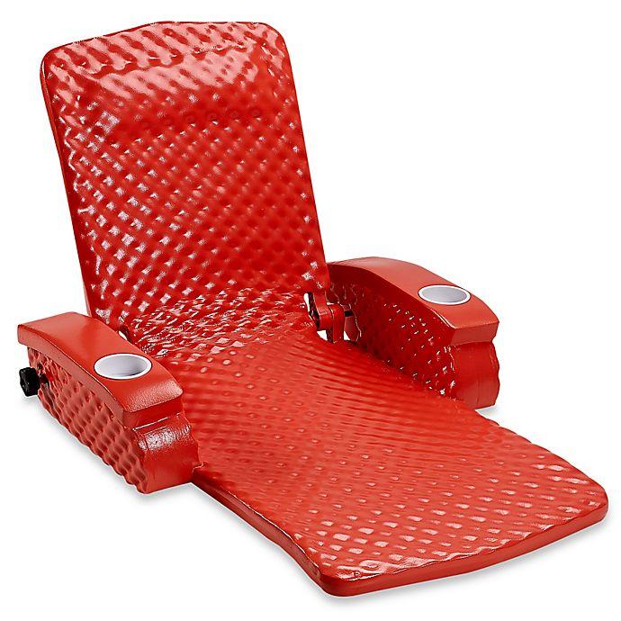 Alternate image 1 for Super Soft® Adjustable Pool Recliner