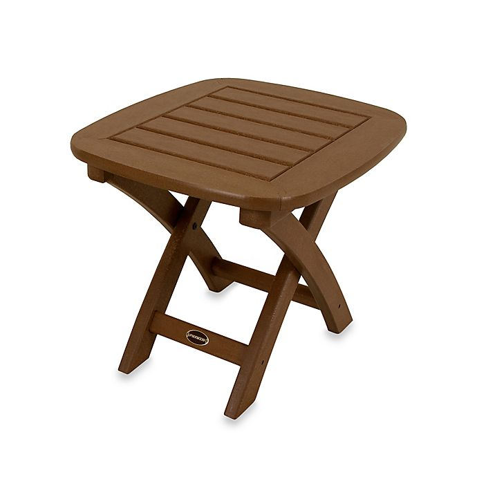 Alternate image 1 for POLYWOOD® Nautical Outdoor Side Table