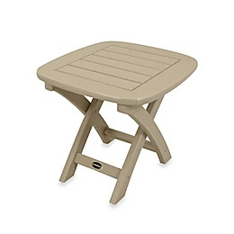 POLYWOOD® Nautical Outdoor Side Table