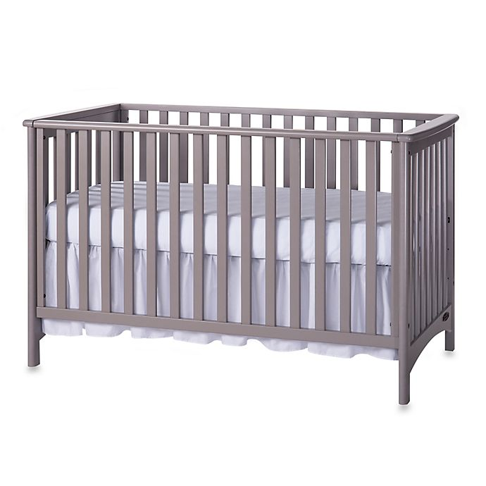 Alternate image 1 for Child Craft™ London 3-in-1 Euro Style Convertible Crib in Grey