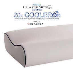 Therapedic® Polar Nights™ 20x Cooling Contour Memory Foam Bed Pillow