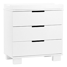Babyletto Modo 3-Drawer Changer Dresser in White