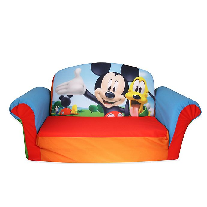 Spin Master Marshmallow Mickey Mouse Flip Open Sofa Bed Bath Beyond