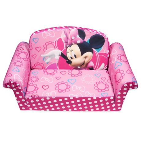 Surprising Spin Master Marshmallow Disney Minnies Bow Tique Flip Open Sofa Machost Co Dining Chair Design Ideas Machostcouk