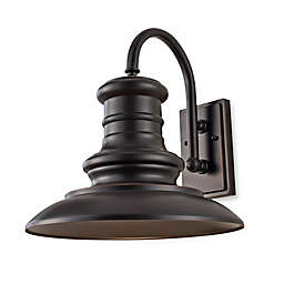Feiss® Redding Station Outdoor Wall Lantern in Restoration Bronze