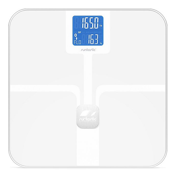 Alternate image 1 for Runtastic Libra Bluetooth Smart Scale in White