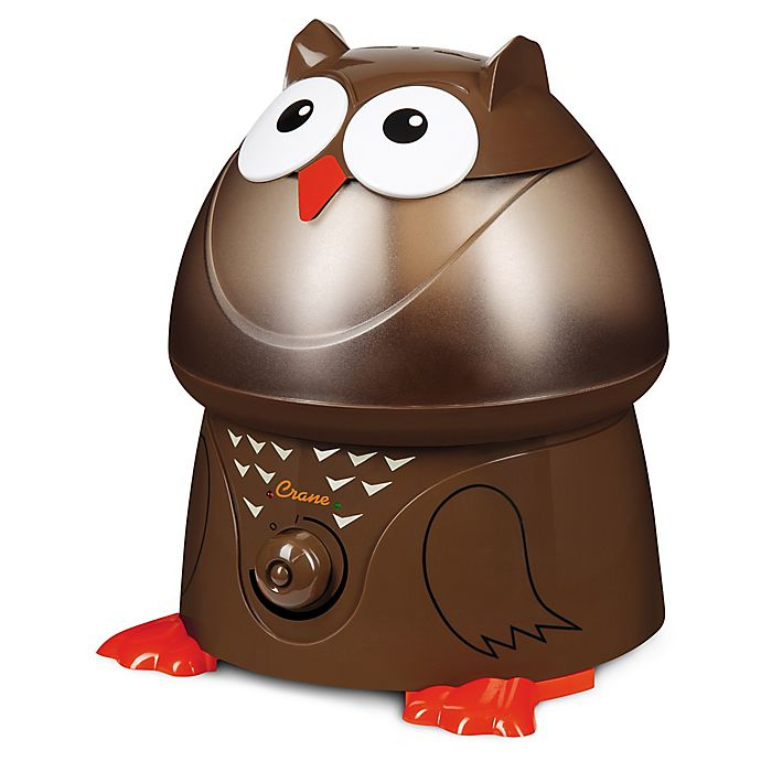 Alternate image 1 for Crane Adorable Owl Ultrasonic Humidifier
