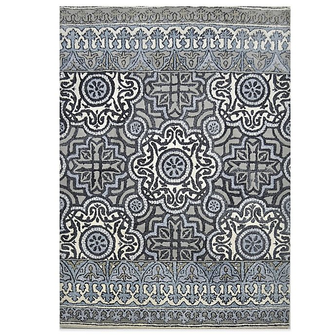 Alternate image 1 for Eva Tufted Wool Rugs in Indigo Multi