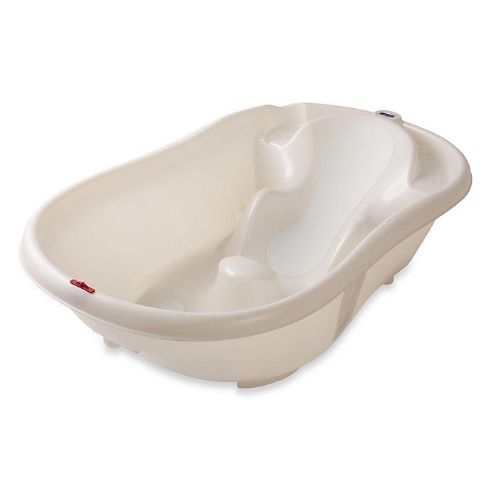 Alternate image 1 for Peg Perego Onda Evolution Baby Bath Tub in White