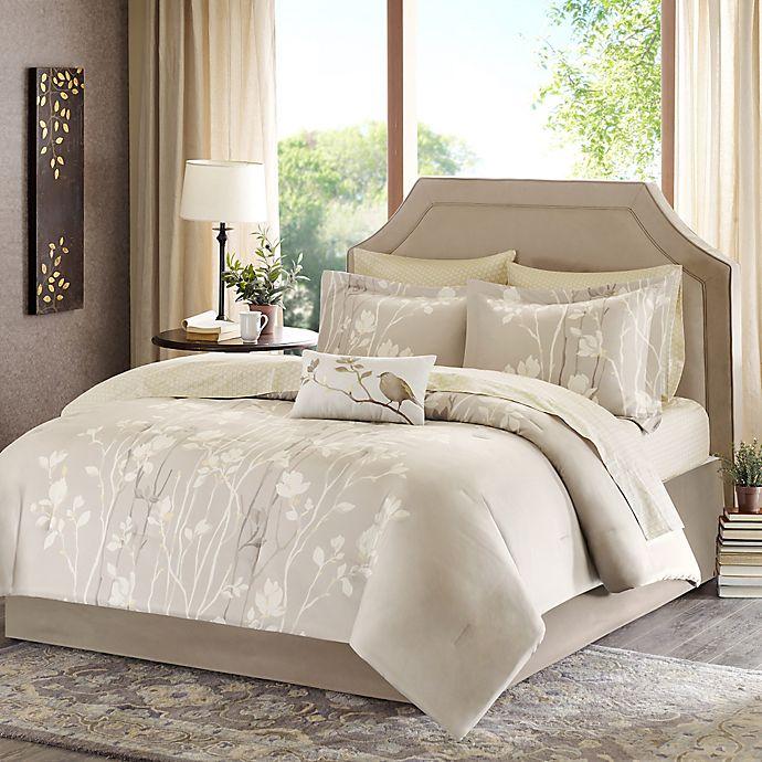 Alternate image 1 for Madison Park Vaughn 9-Piece King Comforter Set