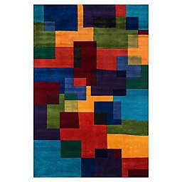 Momeni® New Wave Geometric Multicolor Rug