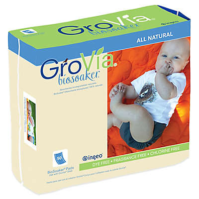 GroVia® 50-Count BioSoaker®