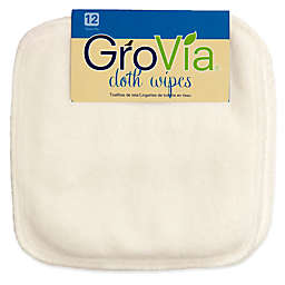 GroVia® 12-Count Cloth Wipes