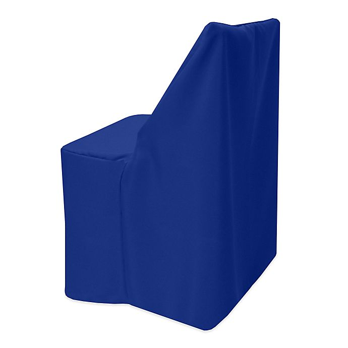 Alternate image 1 for Basic Polyester Cover for Wood Folding Chair in Royal