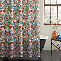 PEVA Freedom Flag Shower Curtain