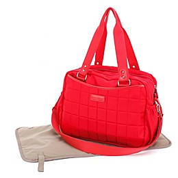 stellakim Leslie Diaper Bag in Red